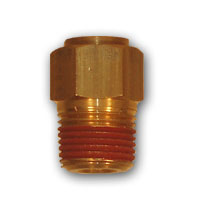 DOT Push-in Air Brake Male Connector