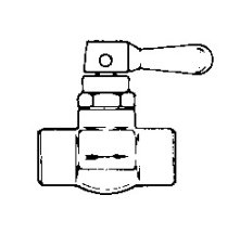 Photo of a Toggle Valve